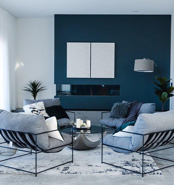 The Brand - Interior Design, Living room, Green Theme